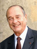 Jacques Chirac, Francuzsko Bývalý prezident Francúzska