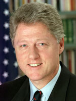 "William J. ""Bill"" Clinton, USA 42. prezident USA"